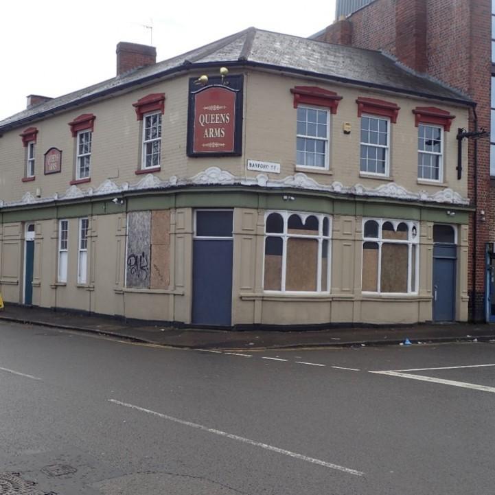 Former Queens Arms Pub